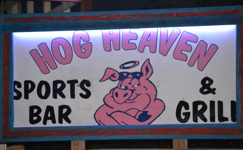 Hog Heaven Grand Re-Opening This Friday 6:00 PM