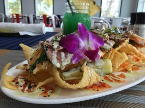 Hawks Cay Angler 3 Tuna nachos