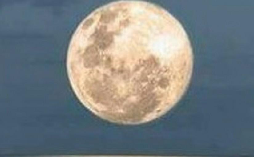 Super Moon Jan. 1st.