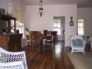 Lignumvitae Matheson house interior